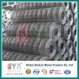 電流を通された金網PVCは亜鉛によって塗られた溶接された網ロール製造者に塗った