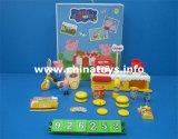 Lustiges Spielzeug-weiches Plastikschwein mit Musik und Licht (926252)