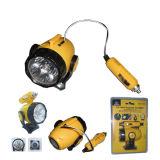 Comprimento do fio de alimentação de 12 V para automóvel de 6 velas LED Auto Reparação de luz ou Luz de Trabalho com íman