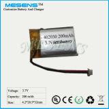 Lithium-Plastik-Batterie 402030 200mAh 3.7V Li-Polymer-Plastik Batterie für MP3/MP4