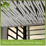 Kombinierte Größen-weiße verschobene quadratisches Gefäß-lineare Aluminiumdecken-Fliesen