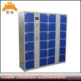 Gabinete inteligente seguro eletrônico do cacifo do armazenamento de Digitas do metal do código de barras do supermercado