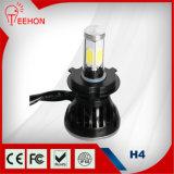 24W*2 고/저 광속 H4 LED 헤드라이트