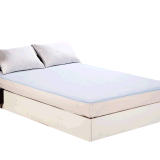 Funda de colchón acolchada de algodón acolchada para colchón de bebé / protector de colchón