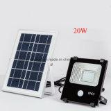 10W/20W/30W/50W/100W Reflector Solar del sensor de movimiento de la iluminación exterior