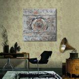 Cerchio decorativo su pittura a olio