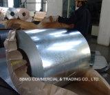 Dx51d Bobine en acier galvanisé à chaud / aluminium aluminisé pour feuille de toiture
