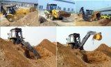Rinoceronte approvato del Ce caricatore dell'escavatore a cucchiaia rovescia da 7 tonnellate con i pezzi di ricambio
