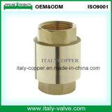 Valvola di ritenuta d'ottone certificata ISO9001 della molla (AV5001)