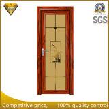 最上質の外側に開いたアルミニウム開き窓のドア