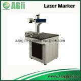 inscription de machine de gravure du laser 20W sur l'acier inoxydable