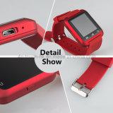 熱い方法Bluetoothのタッチ画面U8が付いているスマートな腕時計の電話