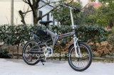 da bicicleta gorda do pneumático de 48V 500W dobradura elétrica com bateria de lítio