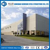 Edificio rápido de la estructura de acero del panel de emparedado de la estructura de la fuente de la fábrica de la fuente de China