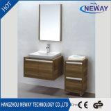 Modernes Melamin-an der Wand befestigter Badezimmer-Eitelkeits-Schrank