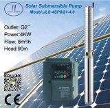 4sp8/21-4.0遠心ステンレス鋼浸水許容の太陽ポンプ