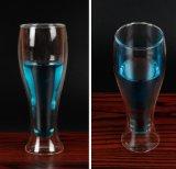 De creatieve Dubbele Kop van de Gift van de Kop van het Bier van de Kop van het Glas van de Muur