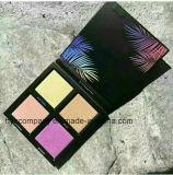 As cores novas do cosmético 4 Waterproof a paleta de Eyeshdow do Shimmer
