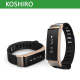 Métal Bluetooth Fitness Tracker Smart Sport Watch