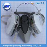 Маска противогаза силикона маски 3m половинной стороны Antigas (изготовление)