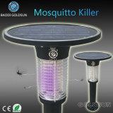 Lampe solaire de tueur de moustique de jardin avec la longueur d'onde 365nm