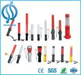 고품질 표준 Portable LED 소통량 배턴 번쩍이는 소통량 배턴