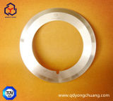 Hoja de cobre del Fi del funcionamiento excelente que corta la lámina circular