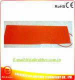 calentador eléctrico flexible del caucho de silicón de 220W 12V 550*50*1.5m m