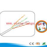 Câble 24AWG de ftp CAT6 avec le câble blanc