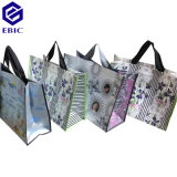 Printing Film를 가진 PP Woven RPET Nonwoven Shopping Bag Coated