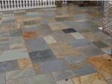Pizarra de pavimentación cuadrada para el jardín del paisaje del suelo con color de la mezcla