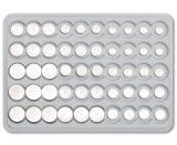 0% Hg Alkaline Button Cell AG12 / Lr43 pour Montre