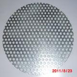 SUS 304 316 discos y paquetes perforados del filtro de acoplamiento del metal del acero inoxidable 316L