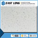 Única cor da pedra artificial de quartzo/bancada contínua da superfície/quartzo