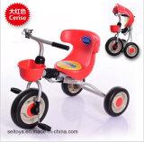 Baby-Wanderer-Fahrt auf Spielzeug-Art-Baby-Dreirad