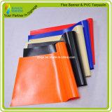 천막 물자에 의하여 박판으로 만들어지는 PVC 방수포 (RJLT001-1)