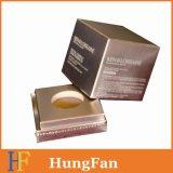 Rectángulo de empaquetado de la botella para los productos de cuidado de piel