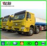 중국 25000L 연료 탱크 트럭 Sinotruk 6X4 무거운 연료 탱크 트럭
