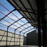 Materielle Stahleinsparung-Stahlgebäude mit Backsteinmauer