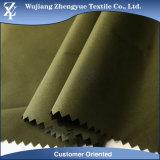 Cire Downproof überzogenes wasserdichtes Polyester-Rohseide-Gewebe für Umhüllung/Futter/Regenschirm/Vorhang