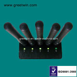 خمسة هوائي يدويّة جهاز تشويش إشارة جهاز تشويش في اجتماع سرّيّة ([غو-جن5])