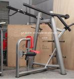 Machine élevée de rangée de matériel de gymnastique chargée par plaque/matériel de forme physique/matériel de culturisme