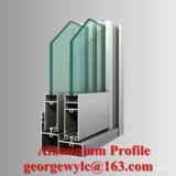 Profilo di alluminio dell'espulsione di profilo di alluminio per il portello di alluminio della finestra di scivolamento