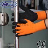 Упор для рук из латекса Nmsafety холодное устойчив тепловой флис зимней работы вещевого ящика