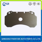 Aço da placa traseira Q235 de engranzamento soldado de almofadas de freio do caminhão