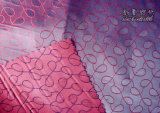 Poliéster / Rayon Jacquard Two Tone Fabric