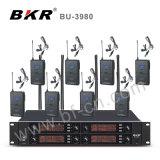 Bu-3980 het zwarte Draadloze Systeem van de Microfoon