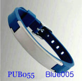 Мужские браслет Pub055 синего цвета
