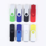 Swivel 다채로운 Android OTG USB Flash Drive 1GB-32GB Logo Cusomized Accepted (OM-P302)