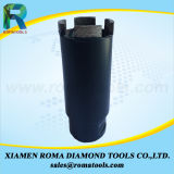 Diamant Romatools Core Trépans comportant des segments de protection pour le Granite
